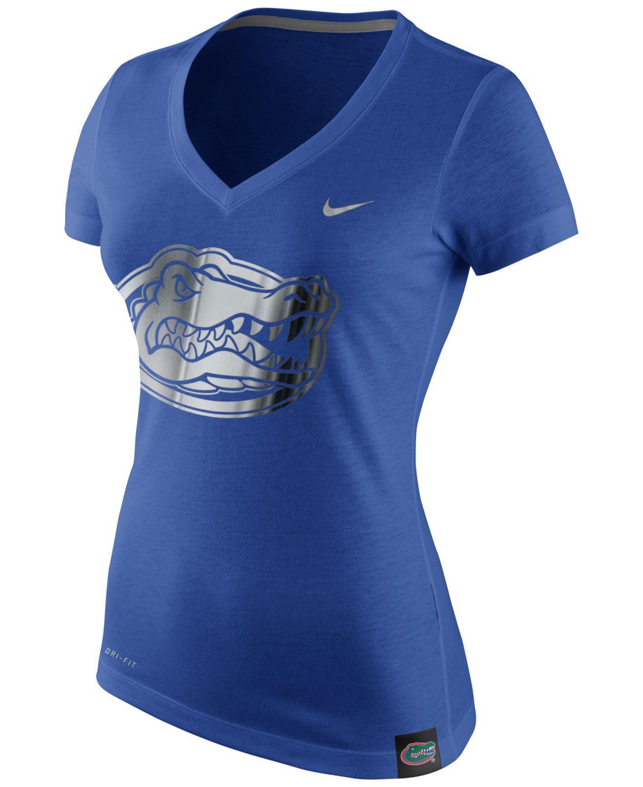 Nike women 39 s short sleeve florida gators dri fit t shirt for Nike dri fit t shirt ladies