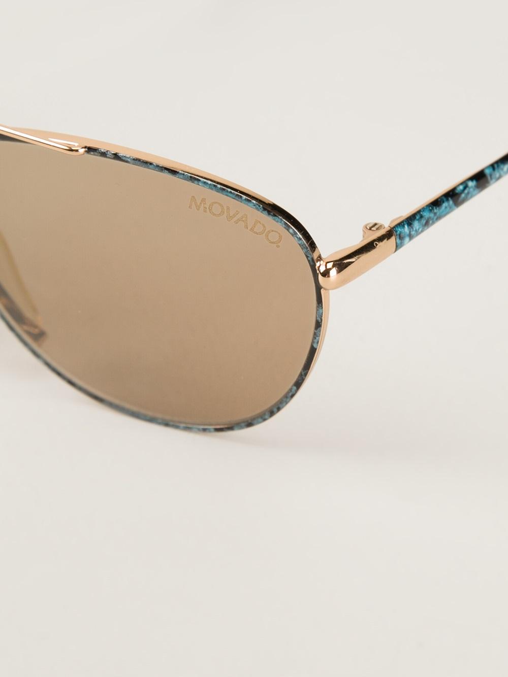 Gold Frame Carrera Sunglasses : Carrera Oval Frame Sunglasses in Gold (metallic) Lyst