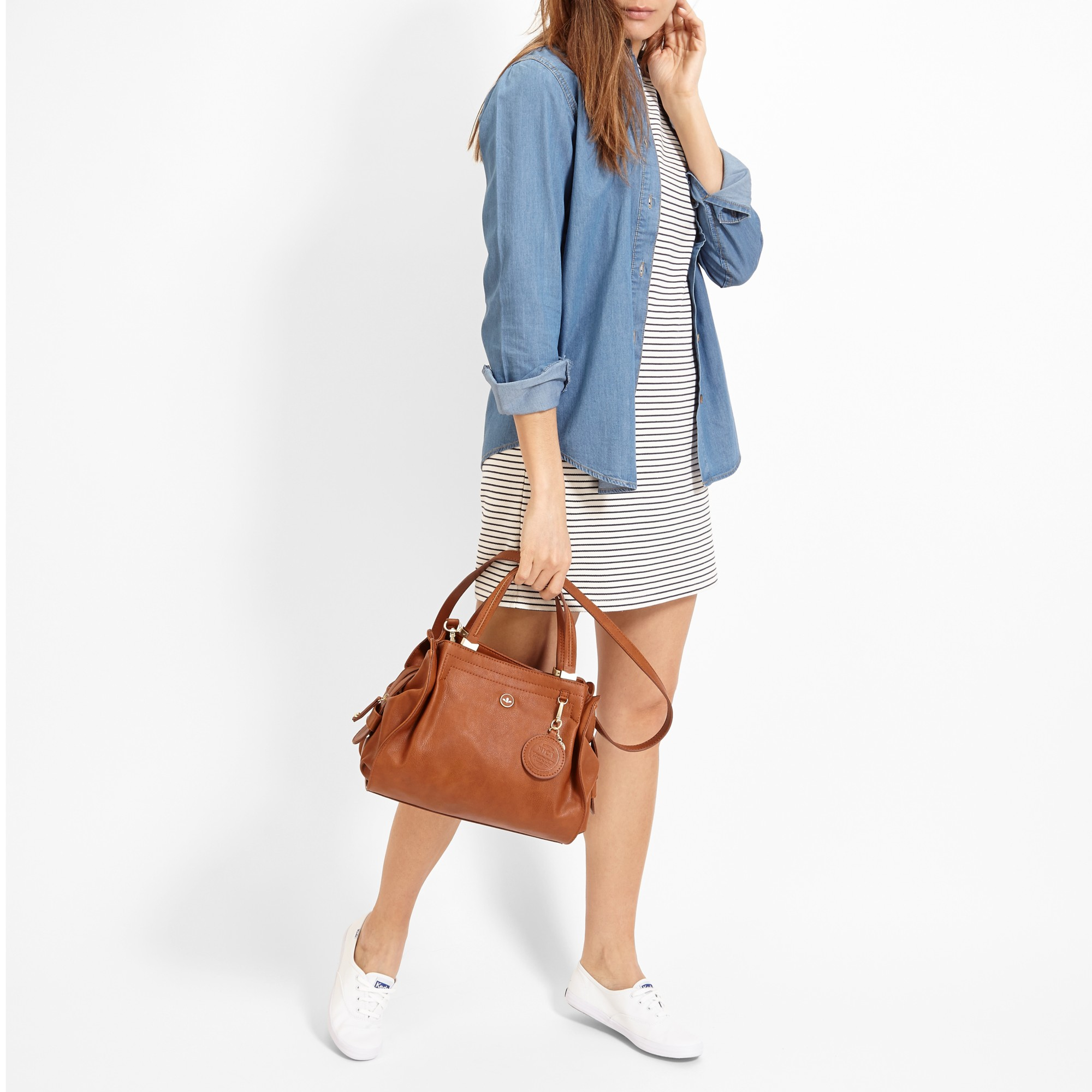 1218be77e46 Nica Ava Grab Bag in Brown - Lyst