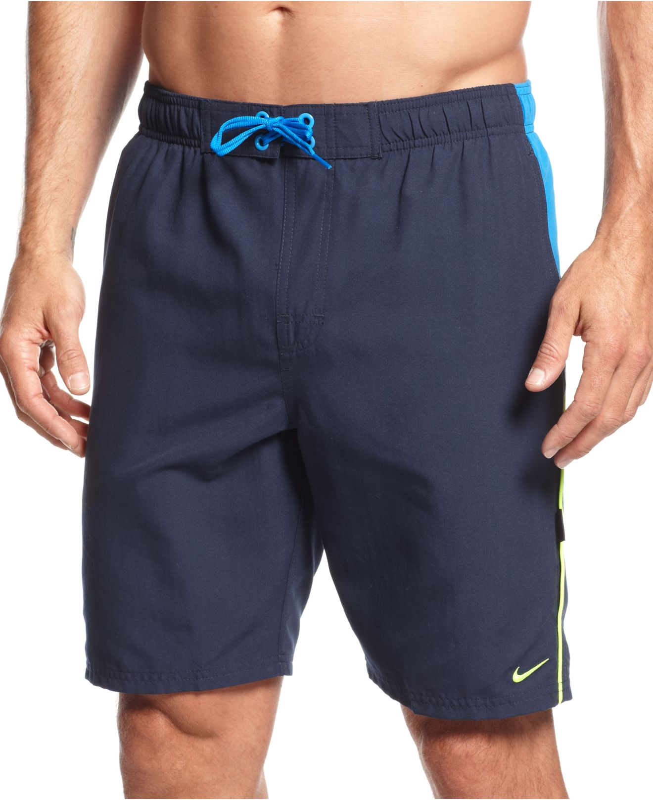 Lyst - Nike Big And Tall Core Contend Volley Swim Trunks ...