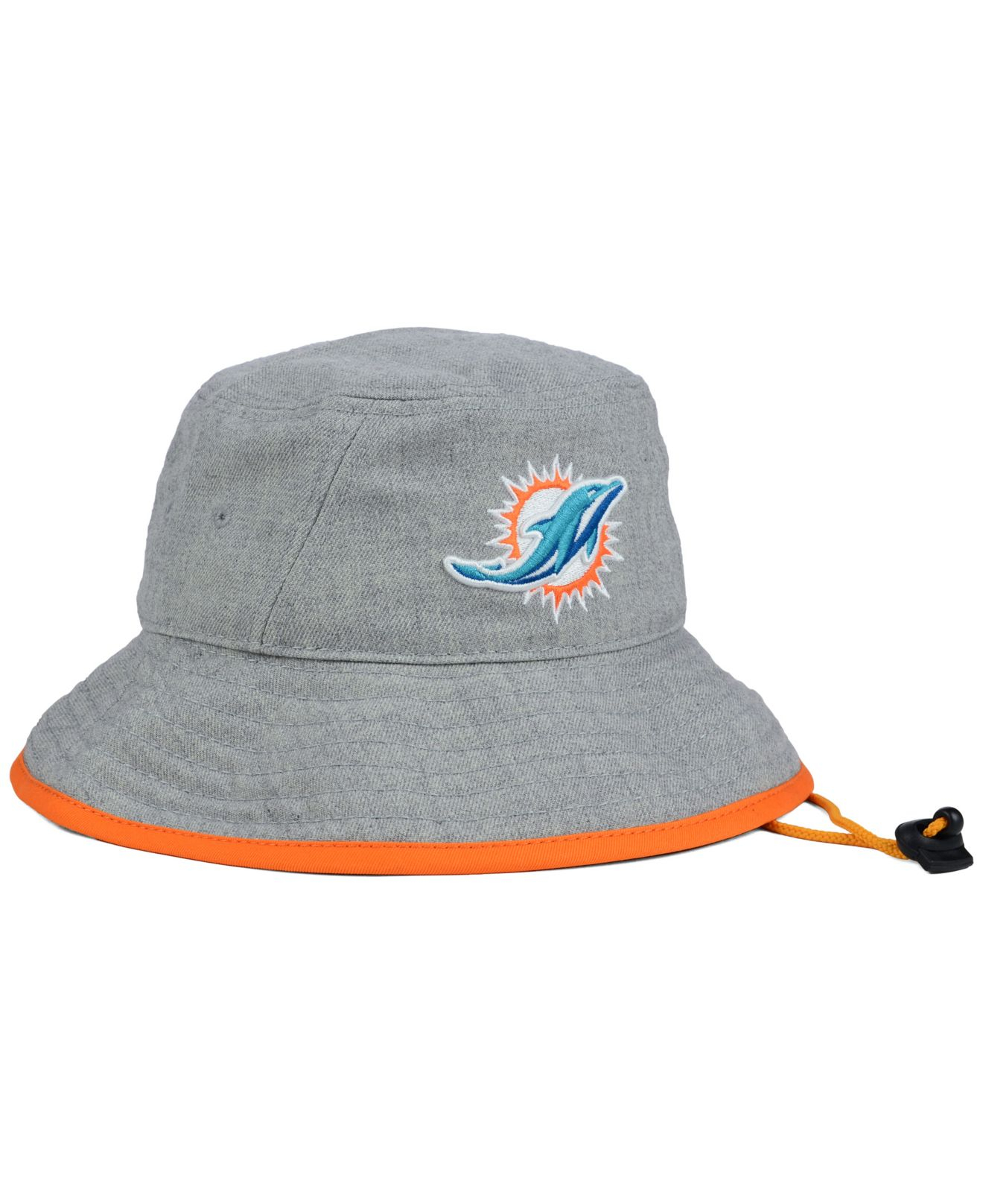 e384a2df8ee ... sweden lyst ktz miami dolphins nfl heather gray bucket hat in gray  a8c0d 05016 ...