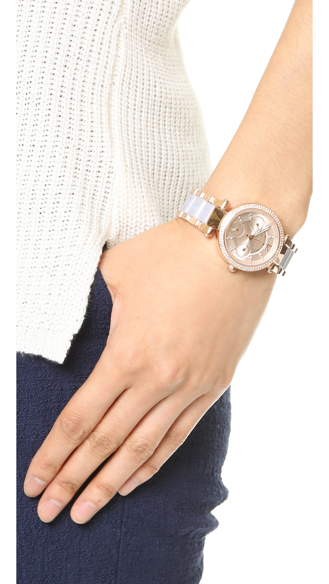 16e1f5aab16b Gallery. Previously sold at  Shopbop · Women s Michael Kors Parker