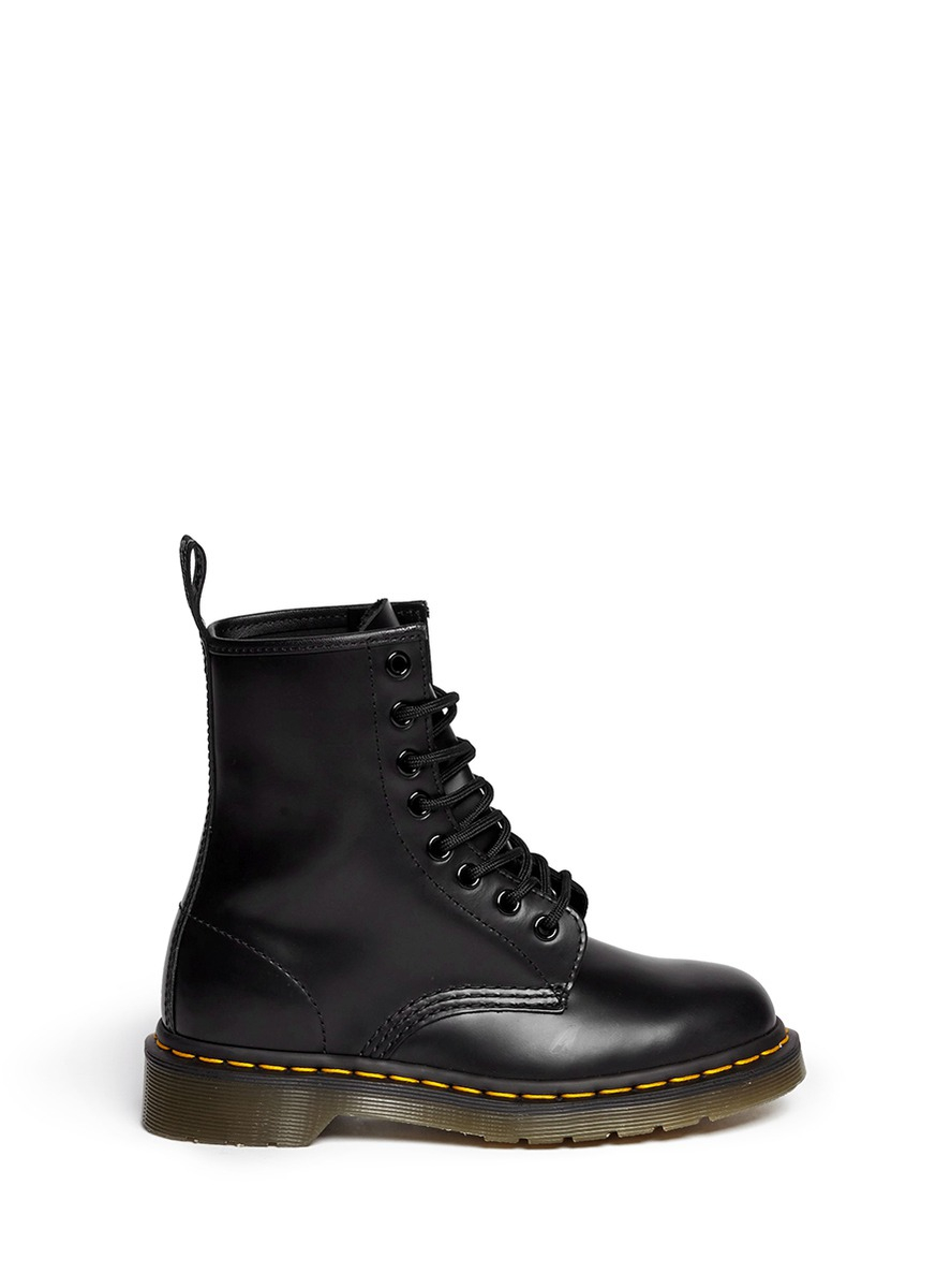 Lyst Dr Martens Core Matte Leather Boots In Black