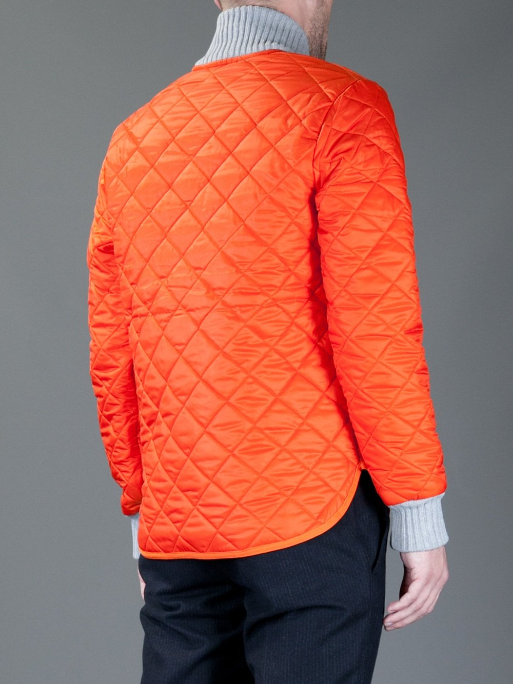 The high visibility orange safety jackets have ANSI class ratings and silver reflective stripes. They come in styles like bomber, hooded, parkas, black bottom, waterproof and weatherproof. Orange hi-viz safety jackets are designed with optional pockets, removable liners, and range in sizes from small to 6X.