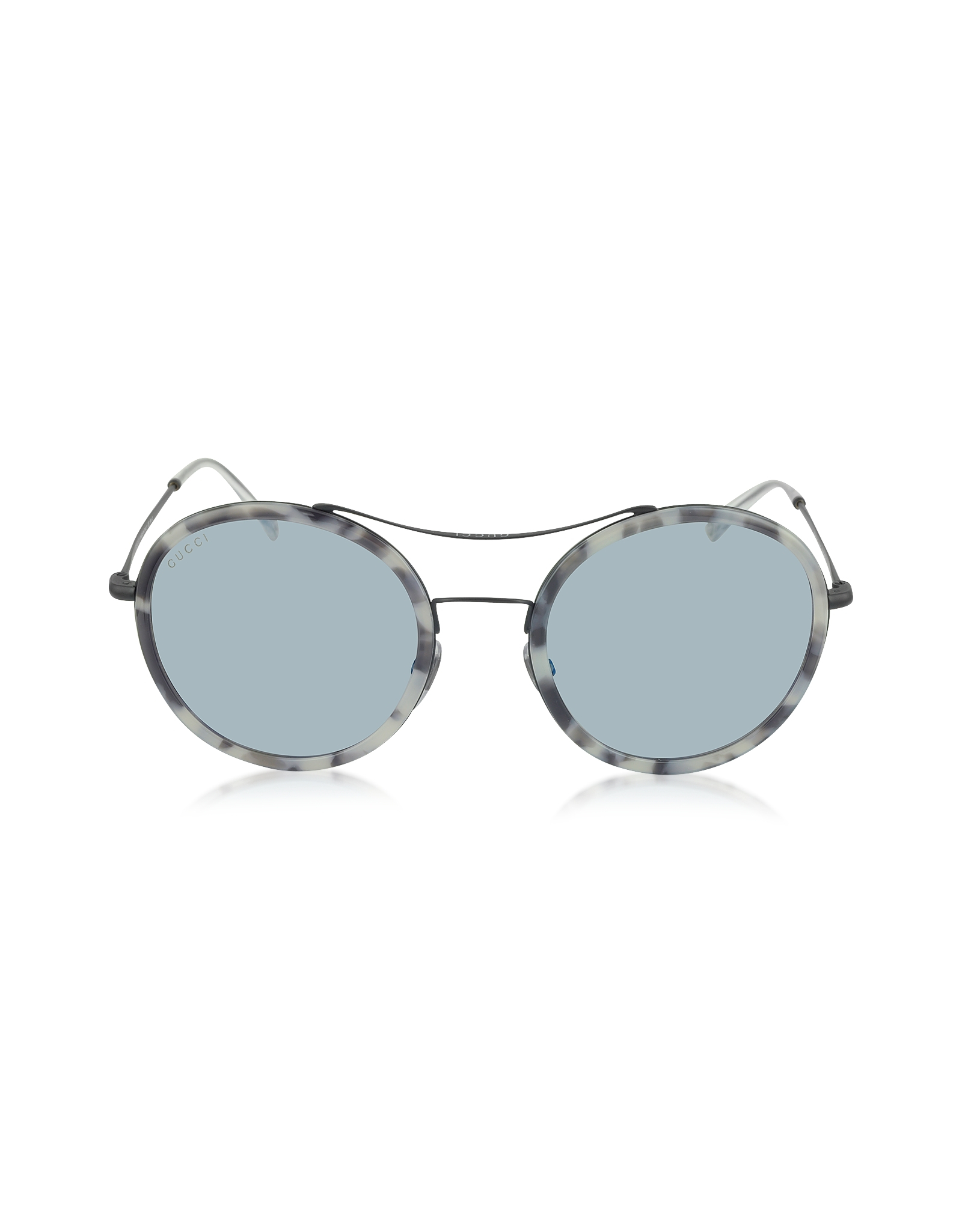 5cc5adc8d6e Lyst - Gucci Gg 4252 n s Ultra Light Acetate Round Women Sunglasses ...