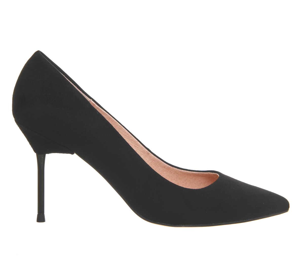 office quincey point court shoes in black lyst