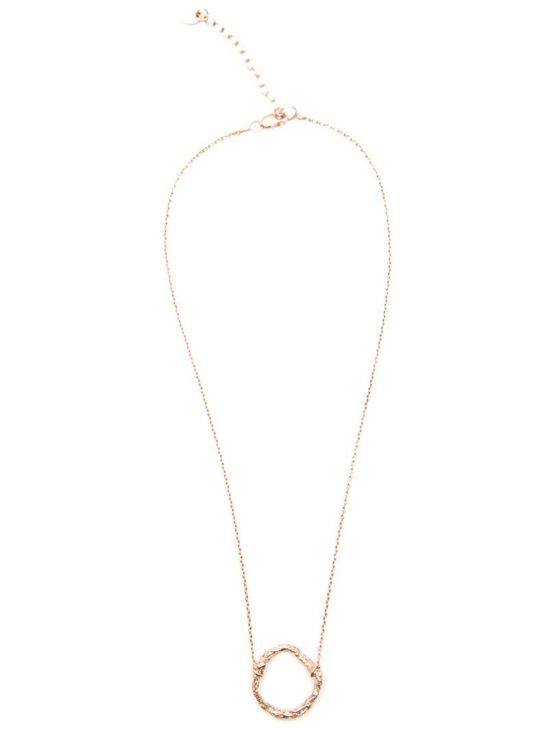 Niza Huang Circle necklace - Metallic r3hFMirma