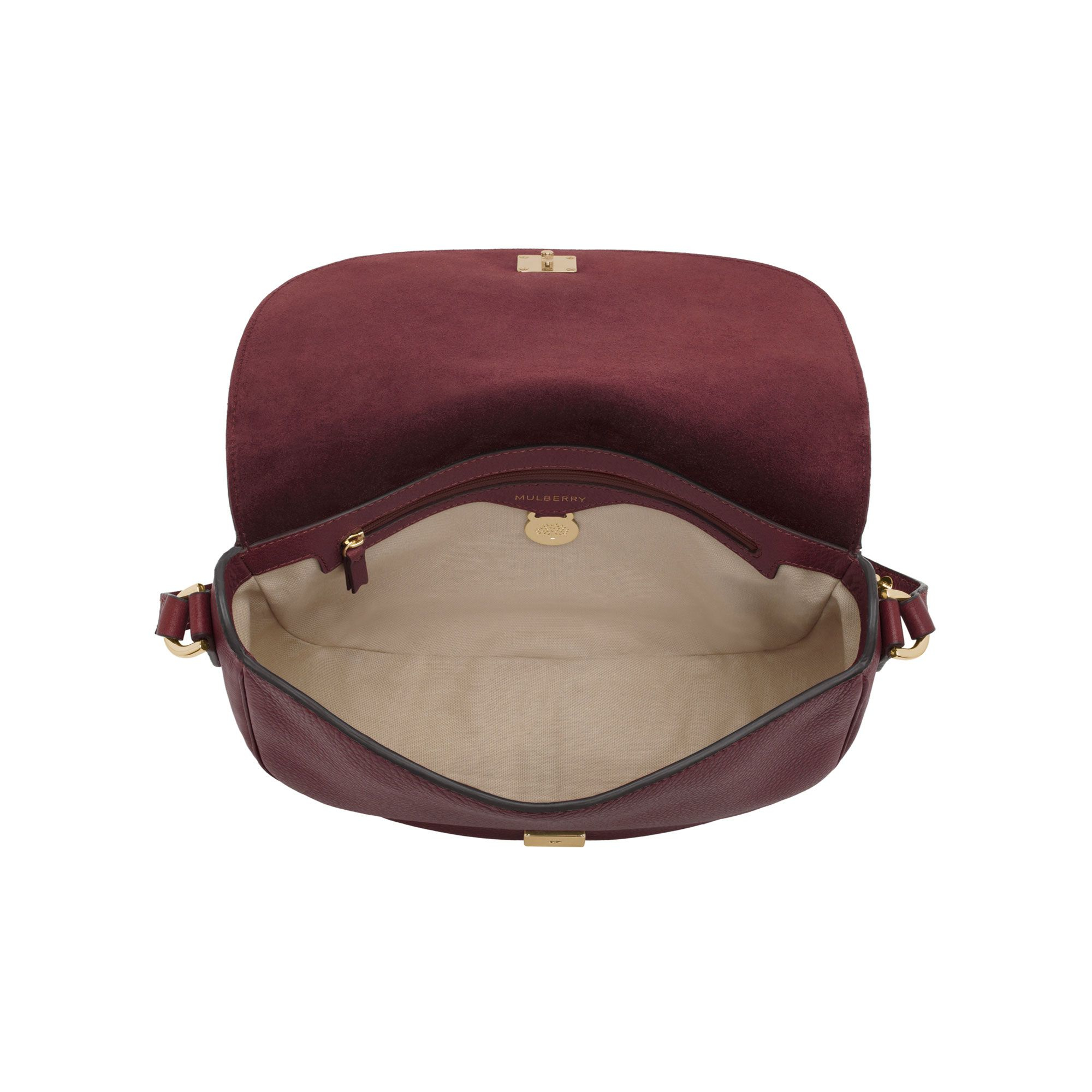 990d1a1a1de1 ... low price leather sold lyst mulberry tessie satchel bag in brown 8dc51  cb95c