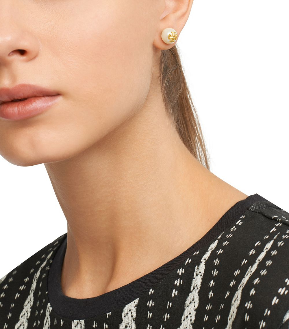 Tory Burch Evie Stud Earrings Best All Earring Photos Kamiliol