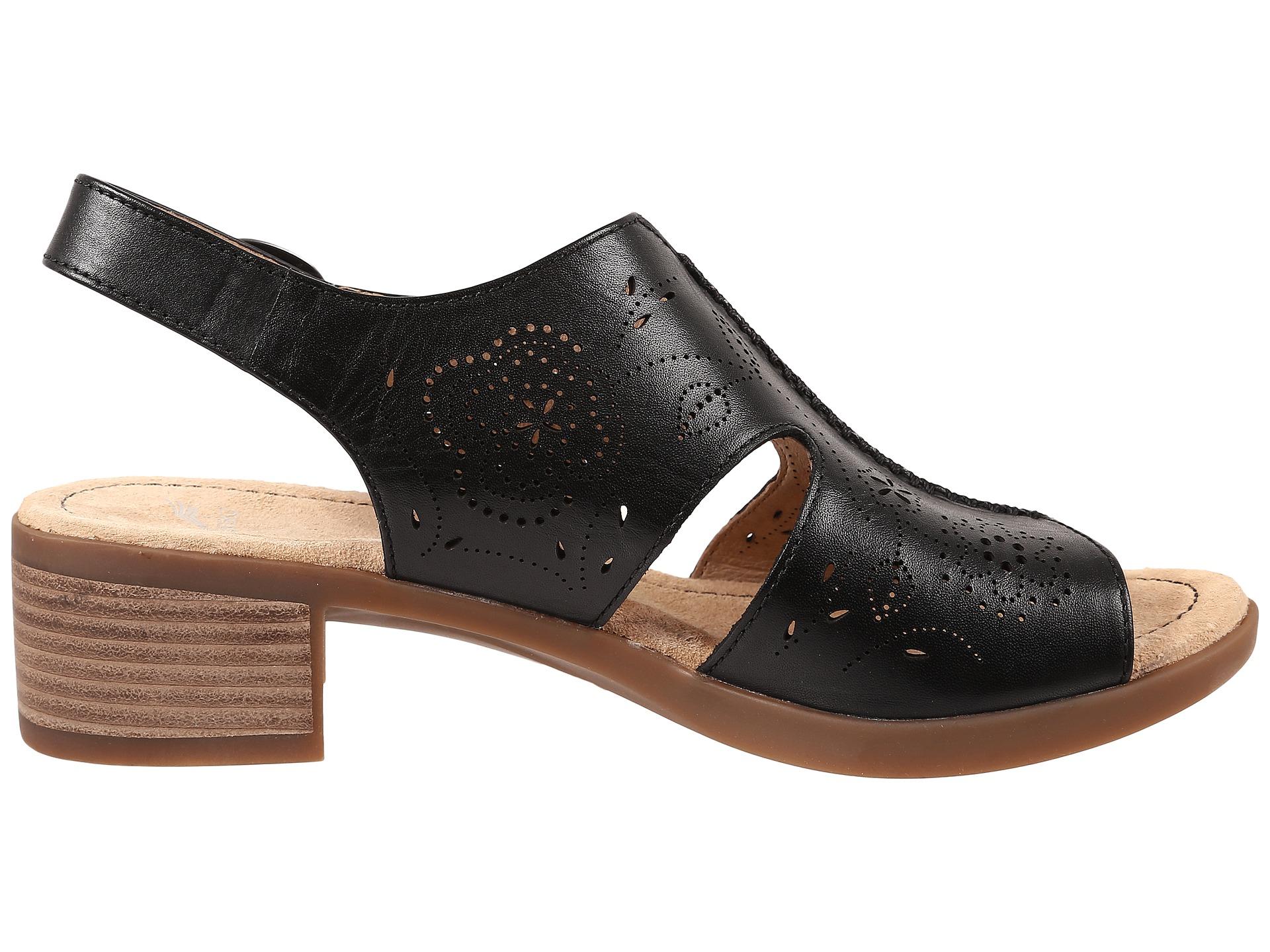 Dansko Lisa Slingback Sandal In Black Lyst