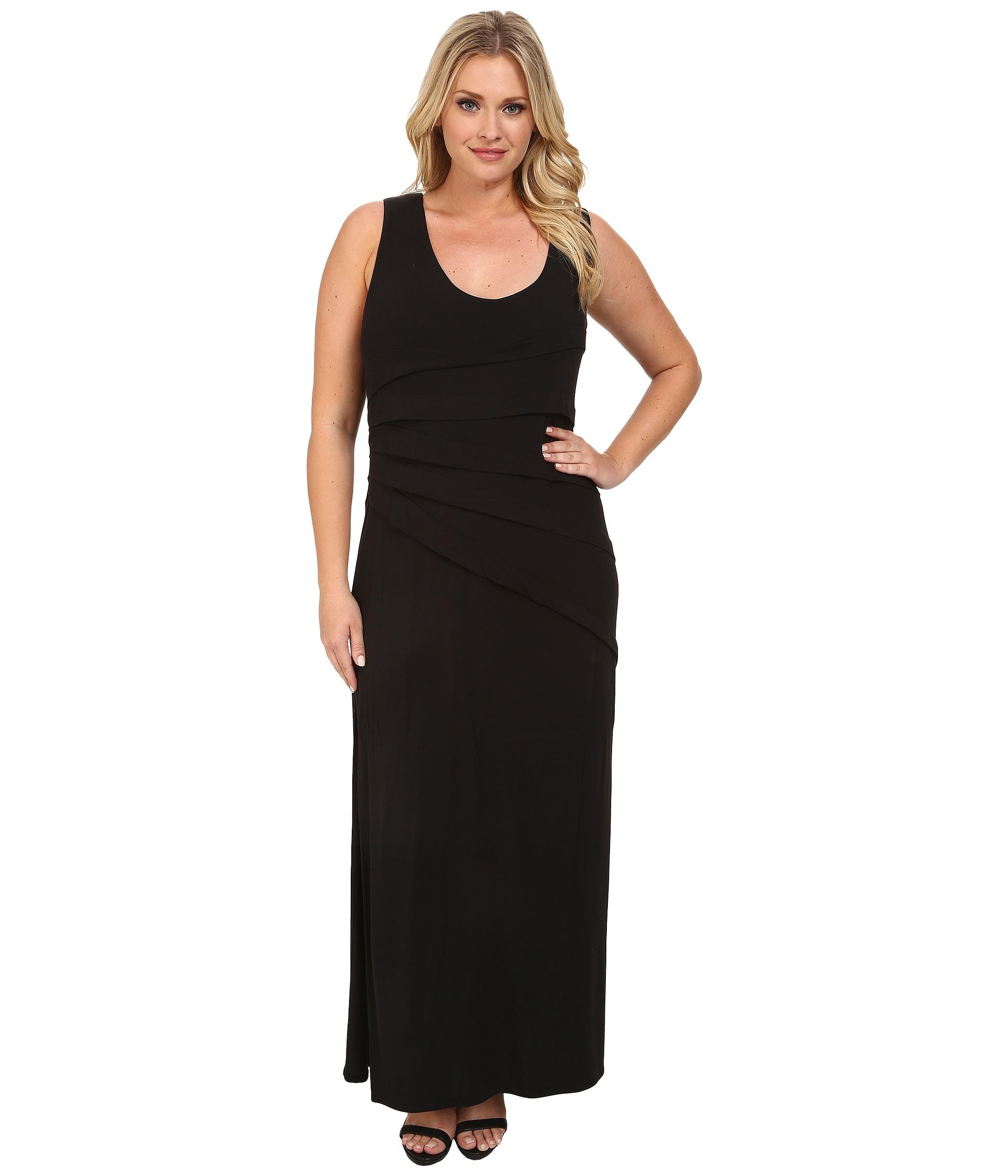 plus size attire little black dress