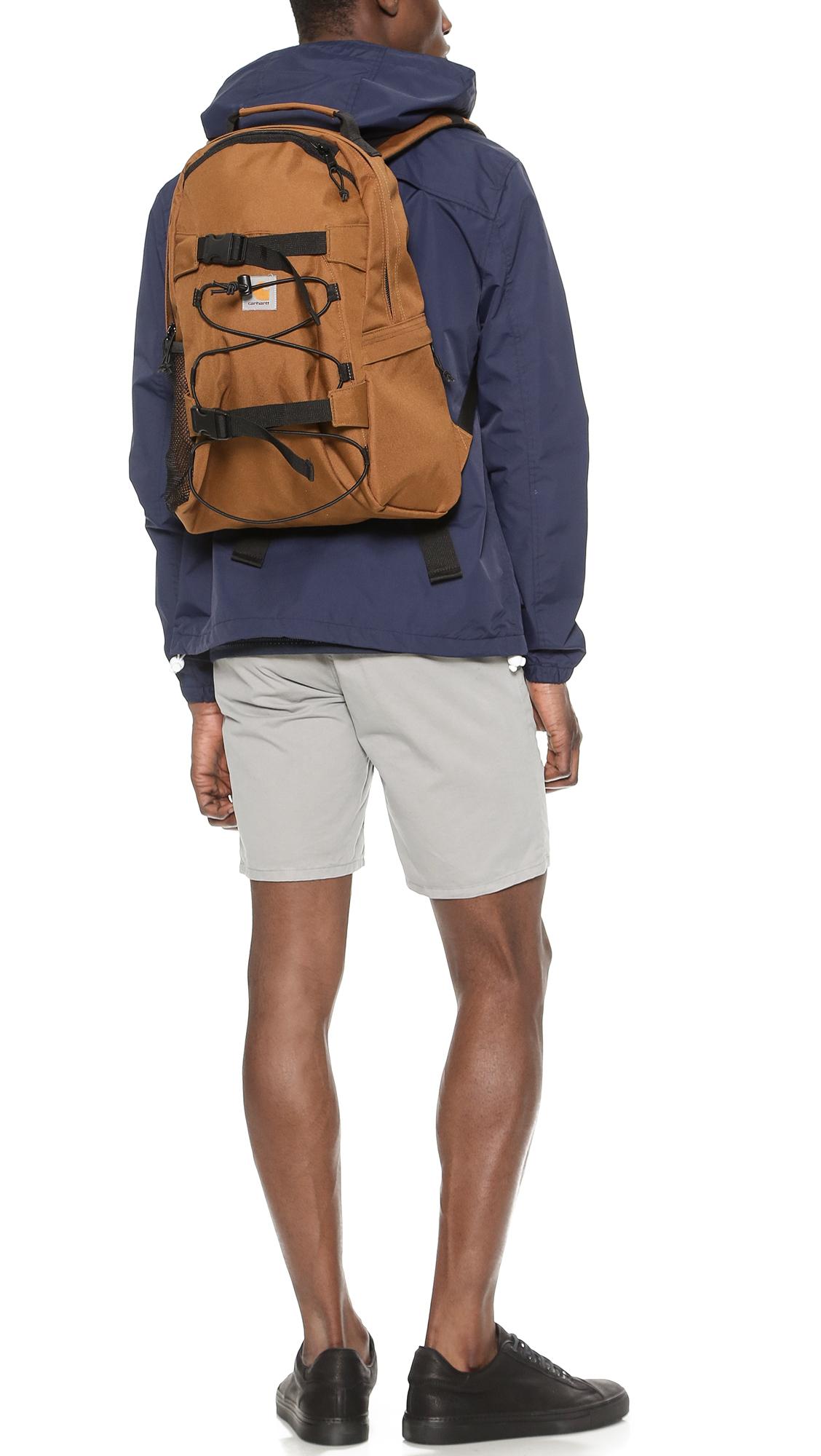 Lyst Carhartt Wip Kickflip Backpack In Brown For Men
