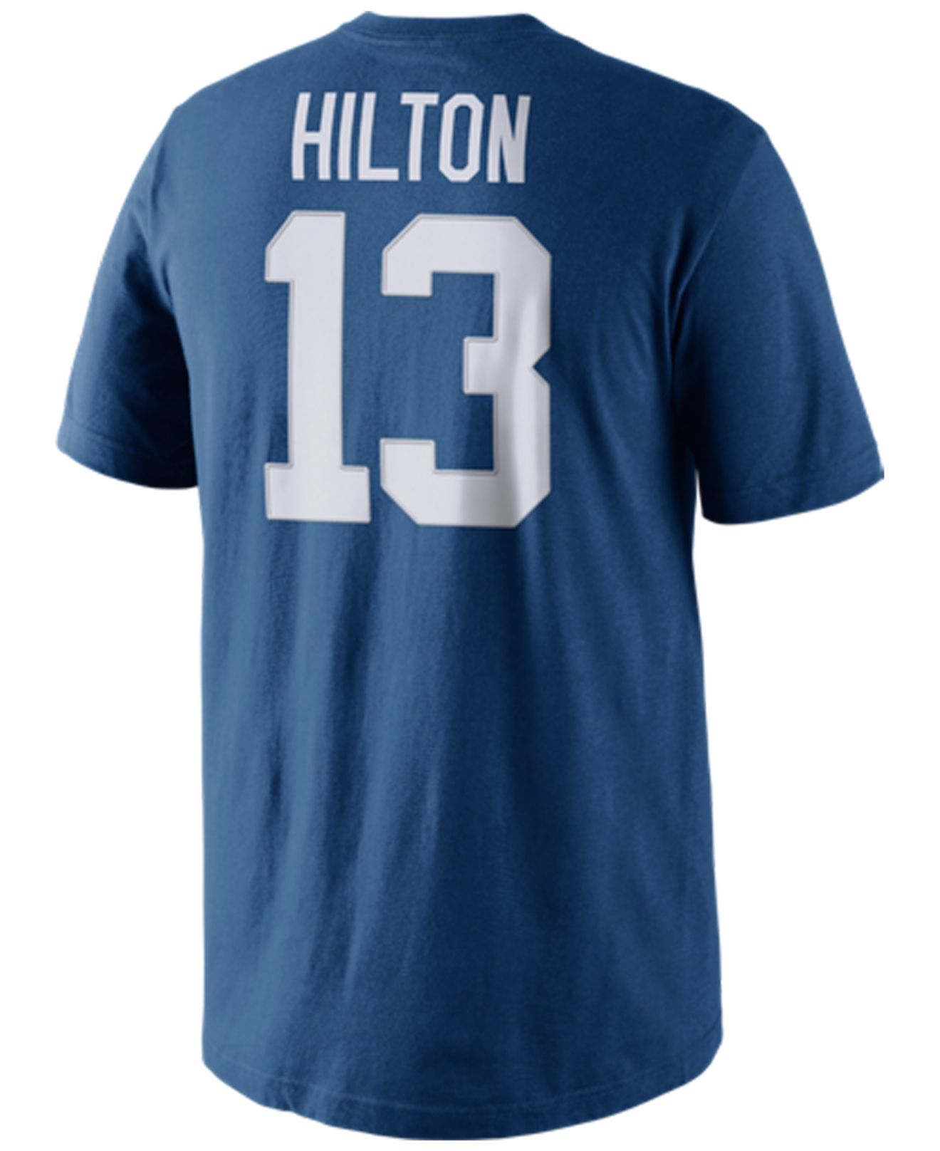 Nike men 39 s t y hilton indianapolis colts pride player t for T shirt printing indianapolis