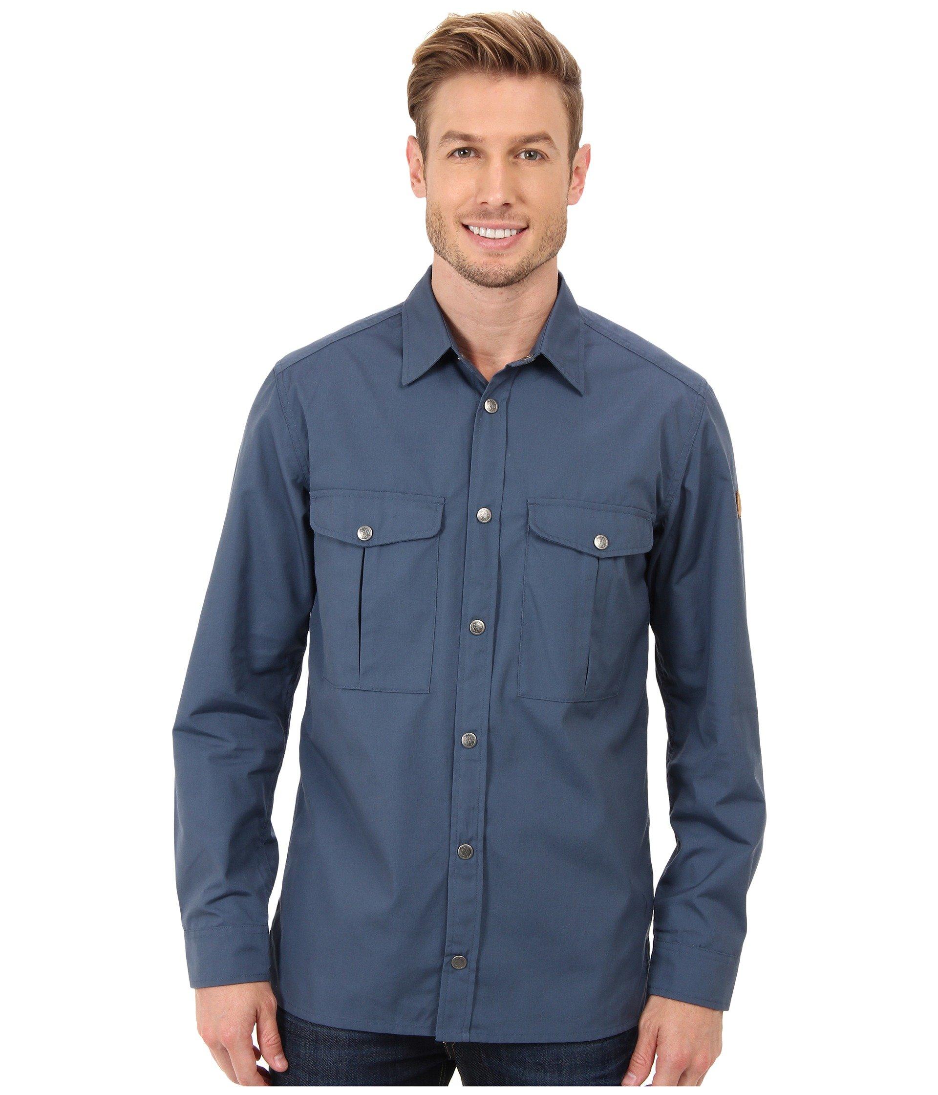 Fjallraven Greenland Shirt in Blue for Men | Lyst
