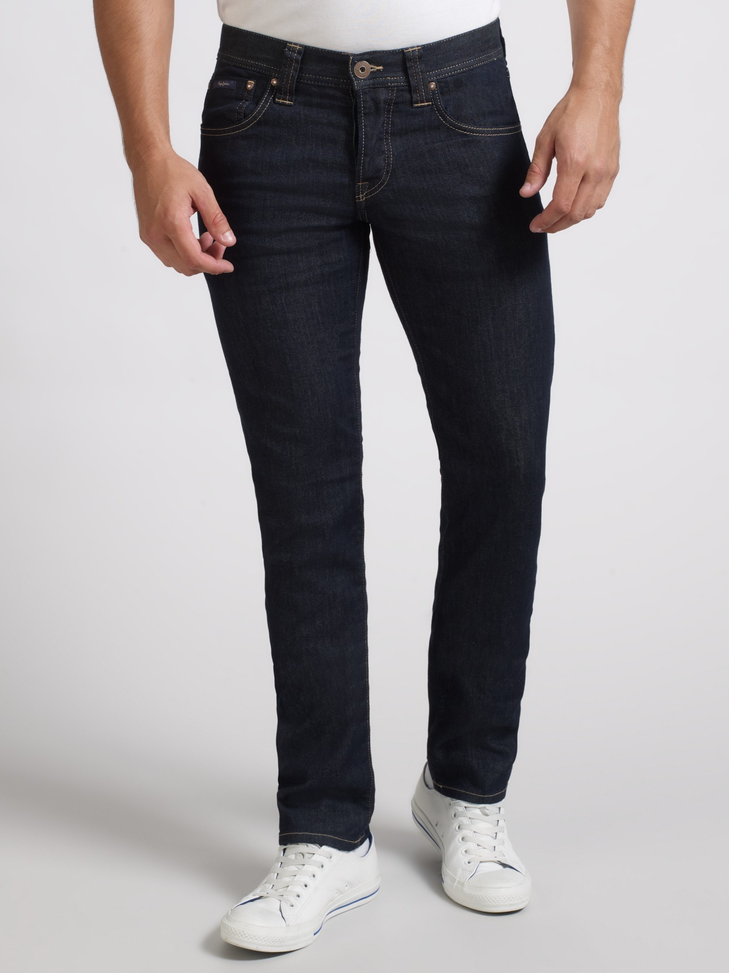 Pepe Jeans Cane Slim Jeans in Blue for Men