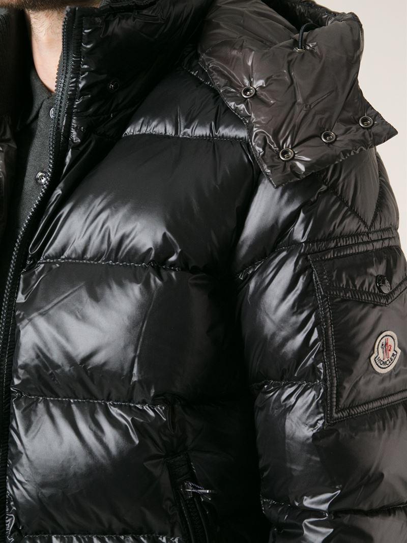8b1d6fef1 Moncler Black 'zin' Padded Jacket for men