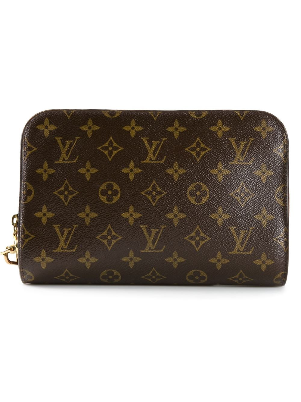 Louis Vuitton Monogram Orsay Clutch In Brown Lyst