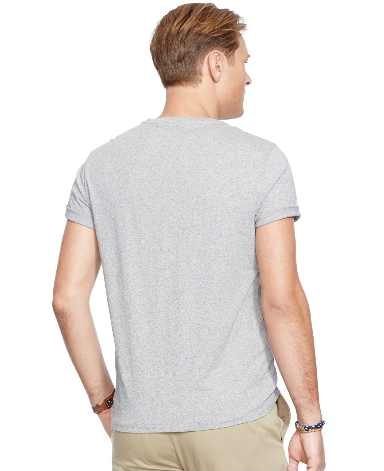 Polo ralph lauren big and tall athletic club t shirt in for Big and tall athletic shirts