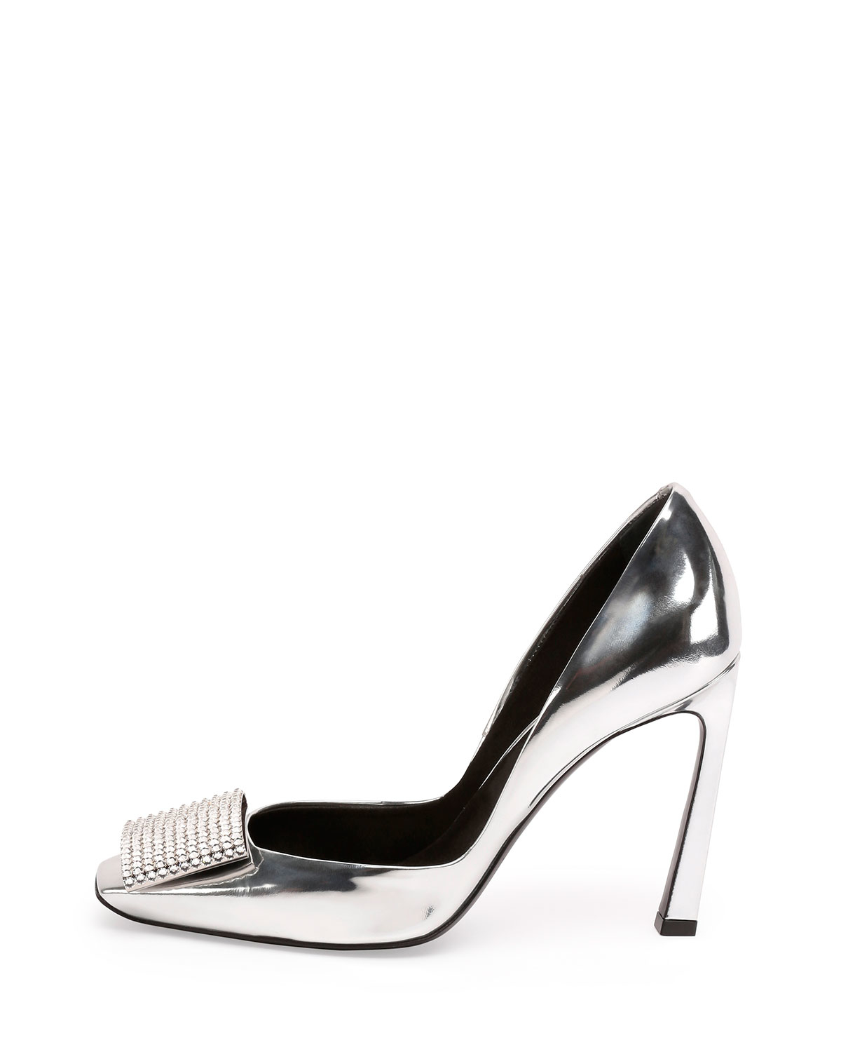 Roger Vivier Metallic Leather Pump discount best store to get qIGg4Fg