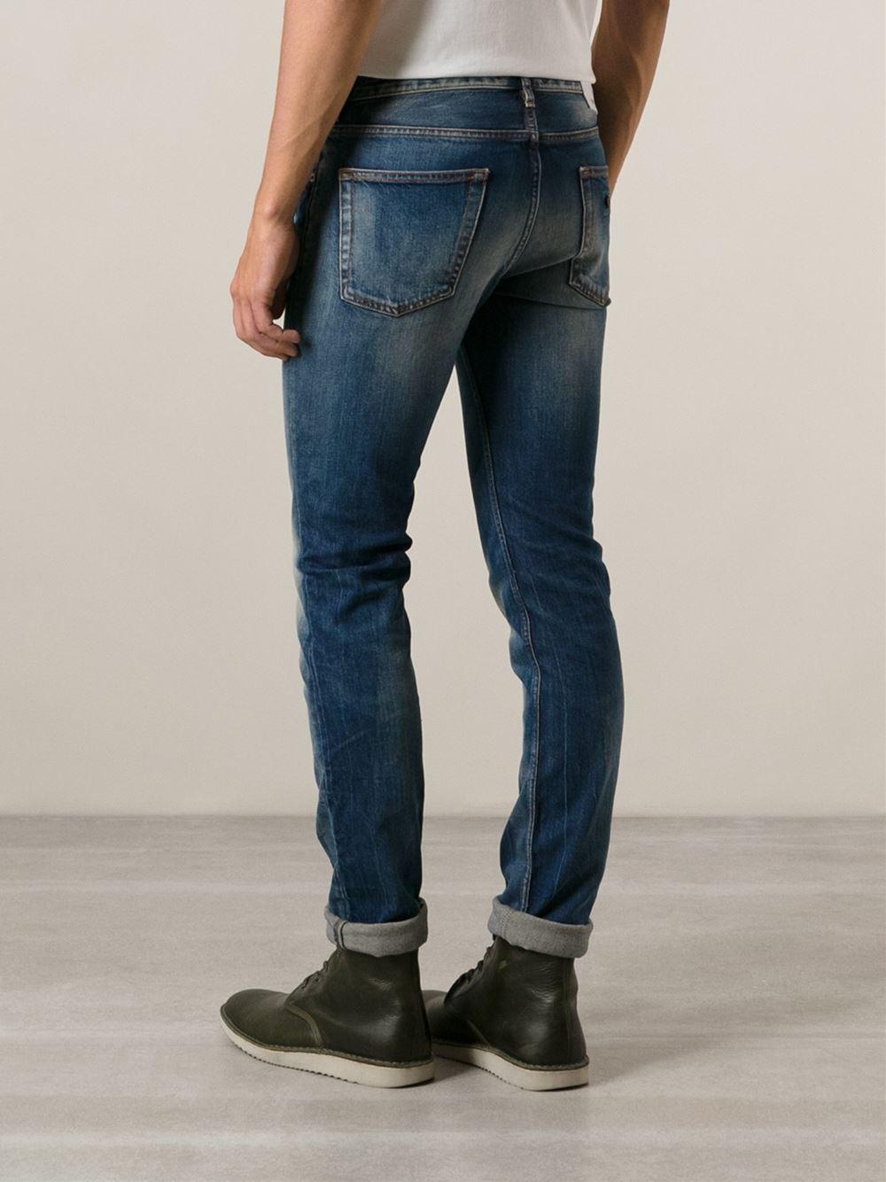 421e3bd6fb Stone Island Blue Skinny Jeans for men