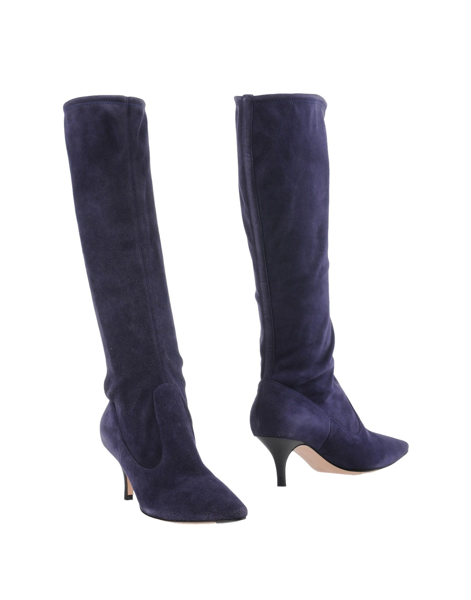 gianvito rossi boots in blue lyst. Black Bedroom Furniture Sets. Home Design Ideas