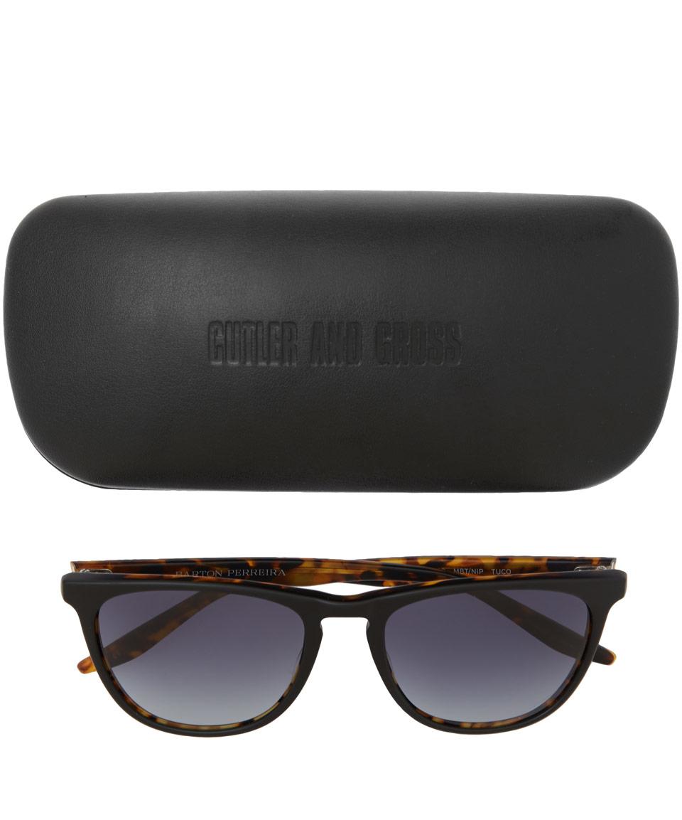 Barton Perreira Black Tuco Sunglasses for Men