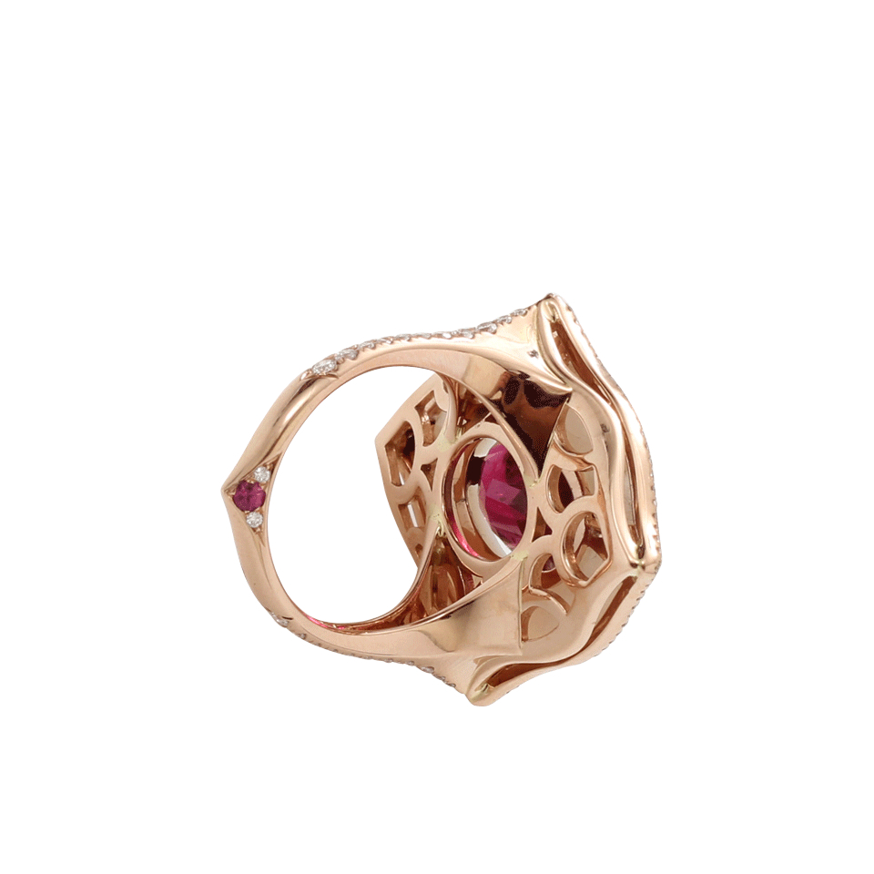 Mother Of Pearl Rosegold Rings