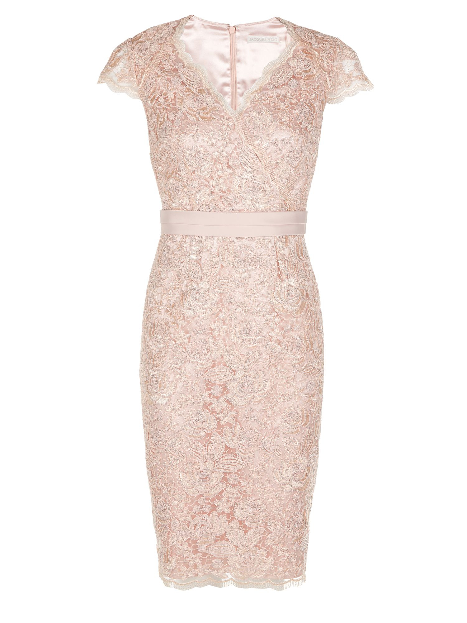 Womens Petite Printed Lace Dress Jacques Vert B4e0rKc6