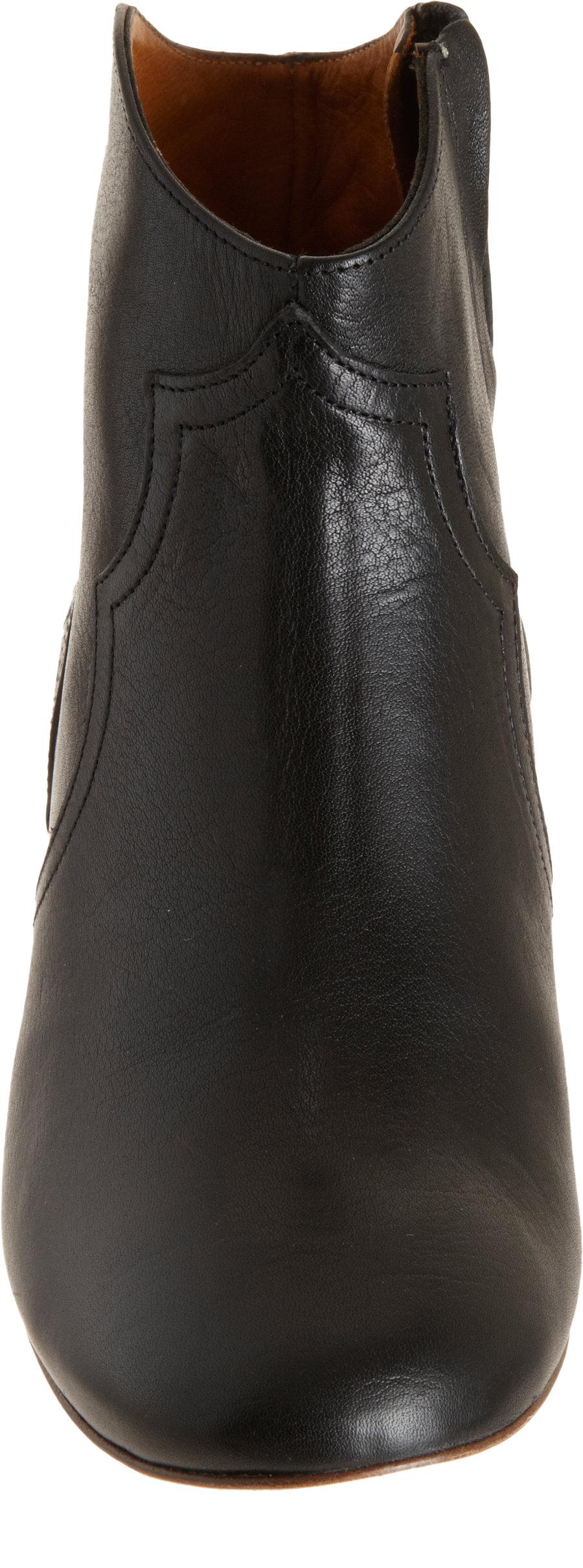 isabel marant dicker ankle boots in black lyst. Black Bedroom Furniture Sets. Home Design Ideas