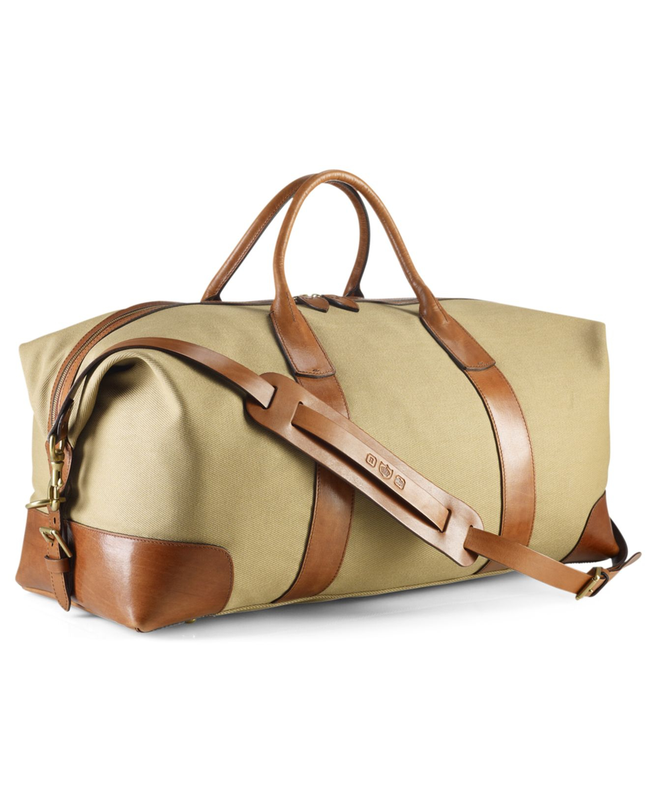 b669d9f089e7 Lyst - Polo Ralph Lauren Core Canvas Duffle Bag in Natural for Men