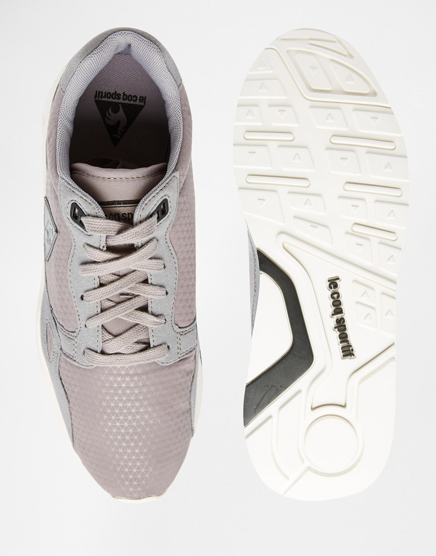 3477e9477e5d Lyst - Le Coq Sportif R900 Silicone Print Trainers in Gray for Men