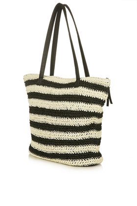 TOPSHOP Pineapple Straw Tote Bag