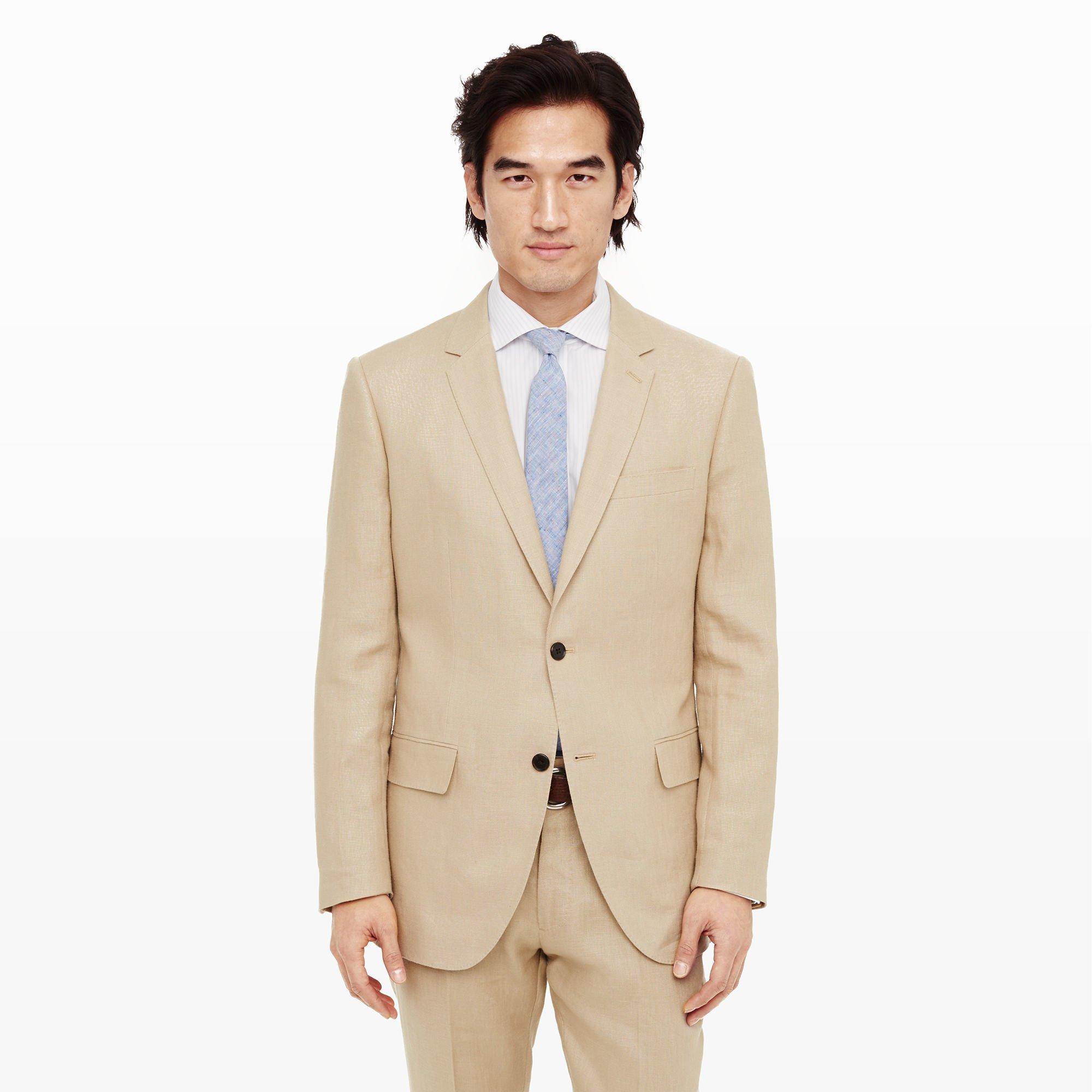 286ce2dead38 Club Monaco Grant Linen Suit Blazer in Natural for Men - Lyst