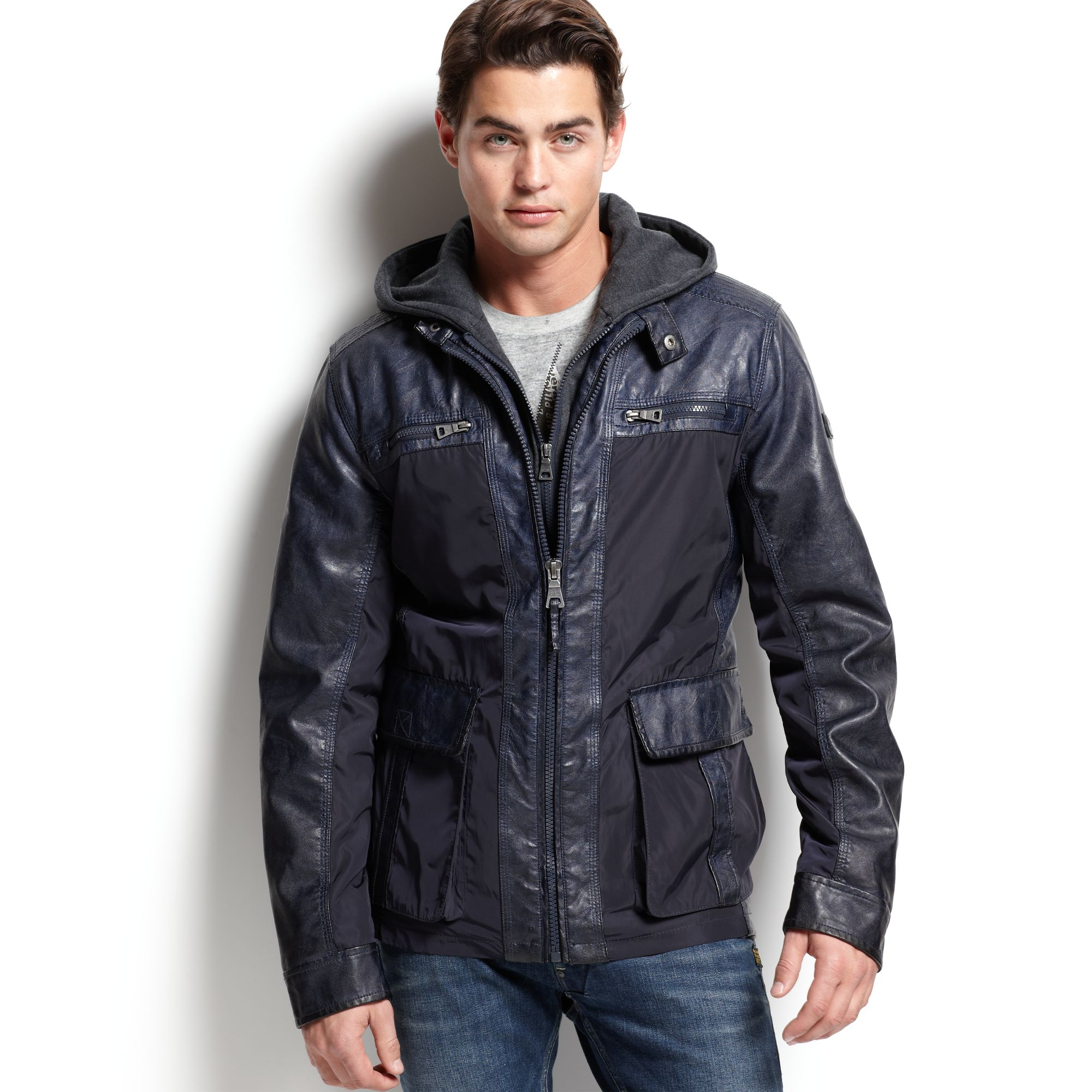 Britches leather jacket