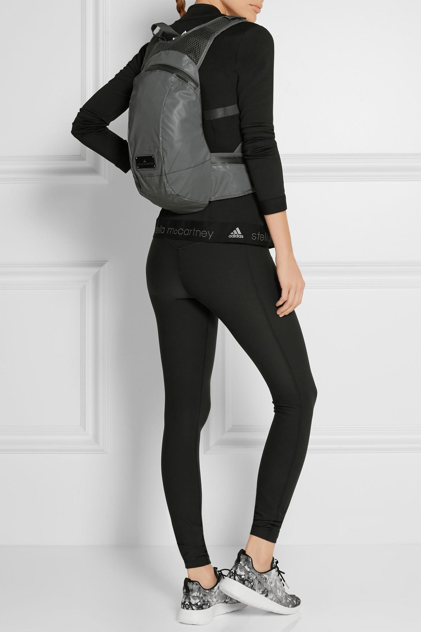 3b88a45738dc adidas By Stella McCartney Reflective Backpack - Grey in Gray - Lyst