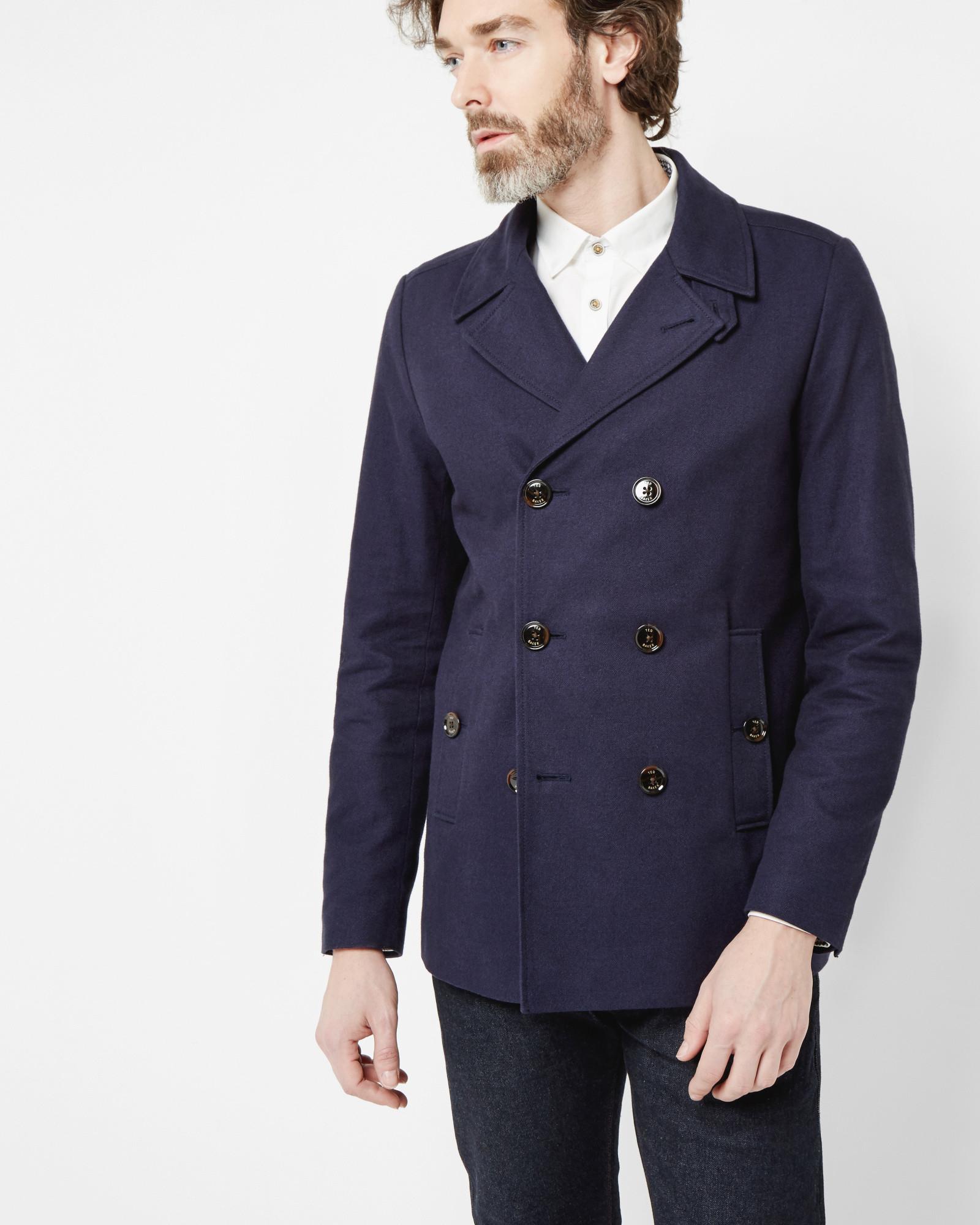 Cotton Pea Coat Promotions, Black Cotton Pea Coat