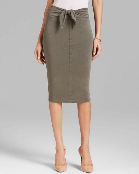 Tie Front Skirt 118