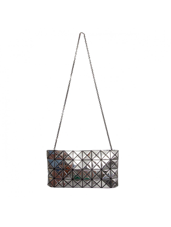 afb0b123ec6a Bao Bao Issey Miyake Prism Zipped Clutch Bag Silver in Metallic - Lyst
