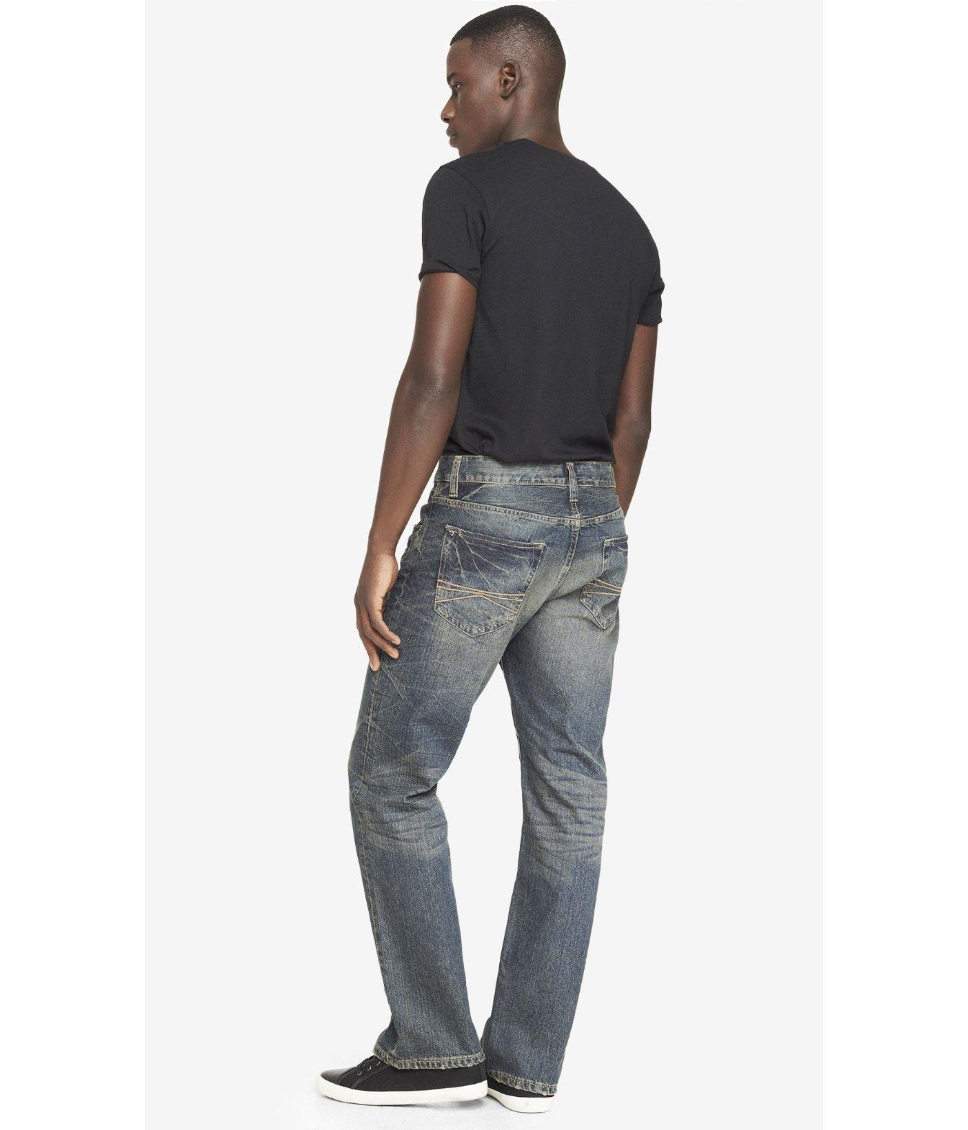 Express jeans blake loose fit bootcut
