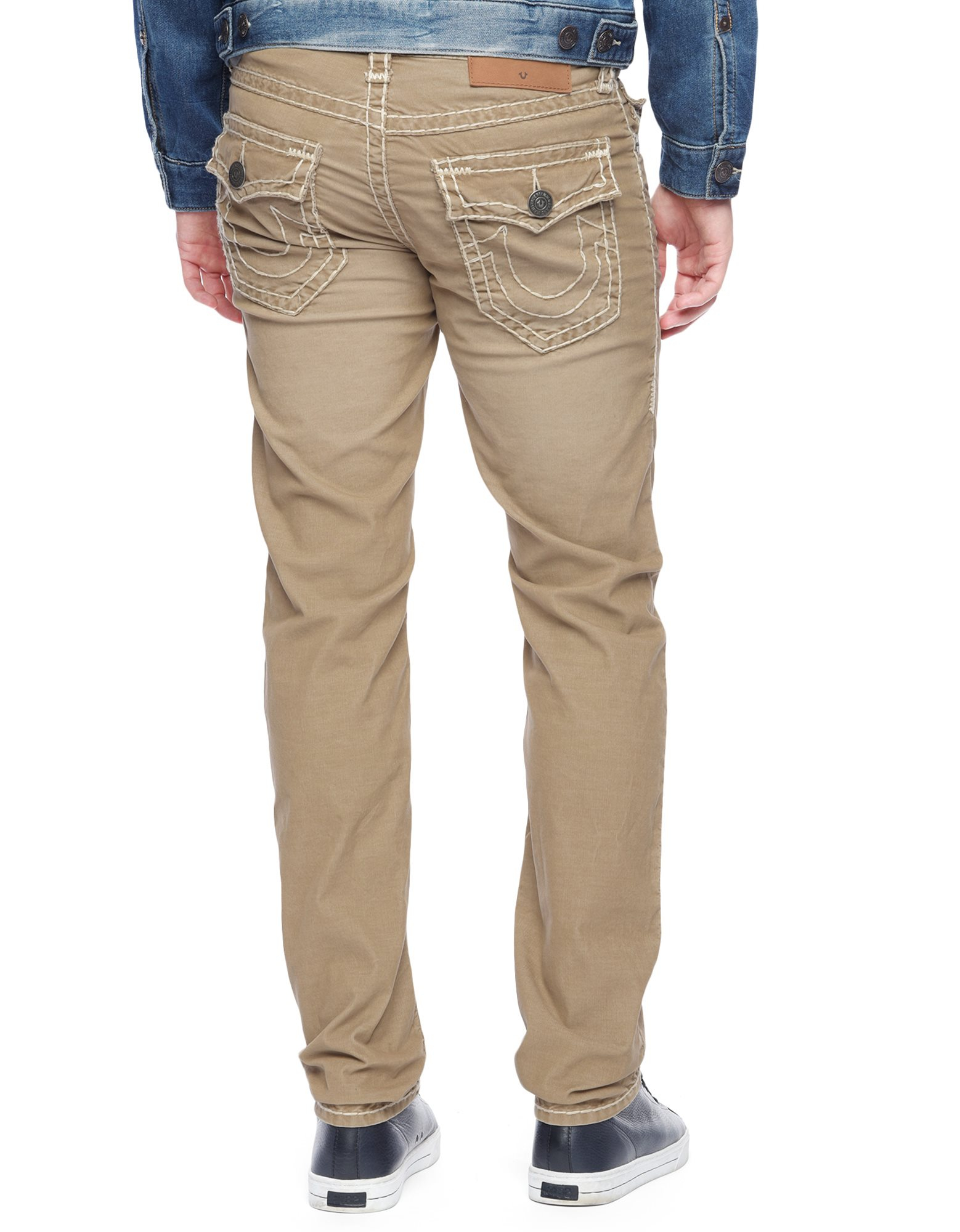 e7a1ef676 True Religion Geno Slim Corduroy Super T Mens Pant in Natural for Men - Lyst