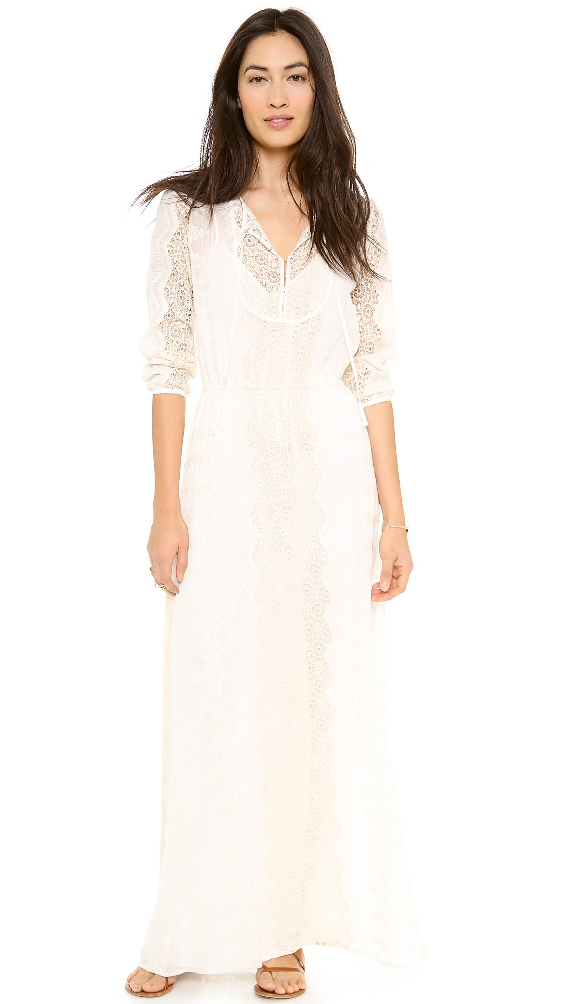 Twelfth Street Cynthia Vincent Long Sleeve Maxi Dress in ...