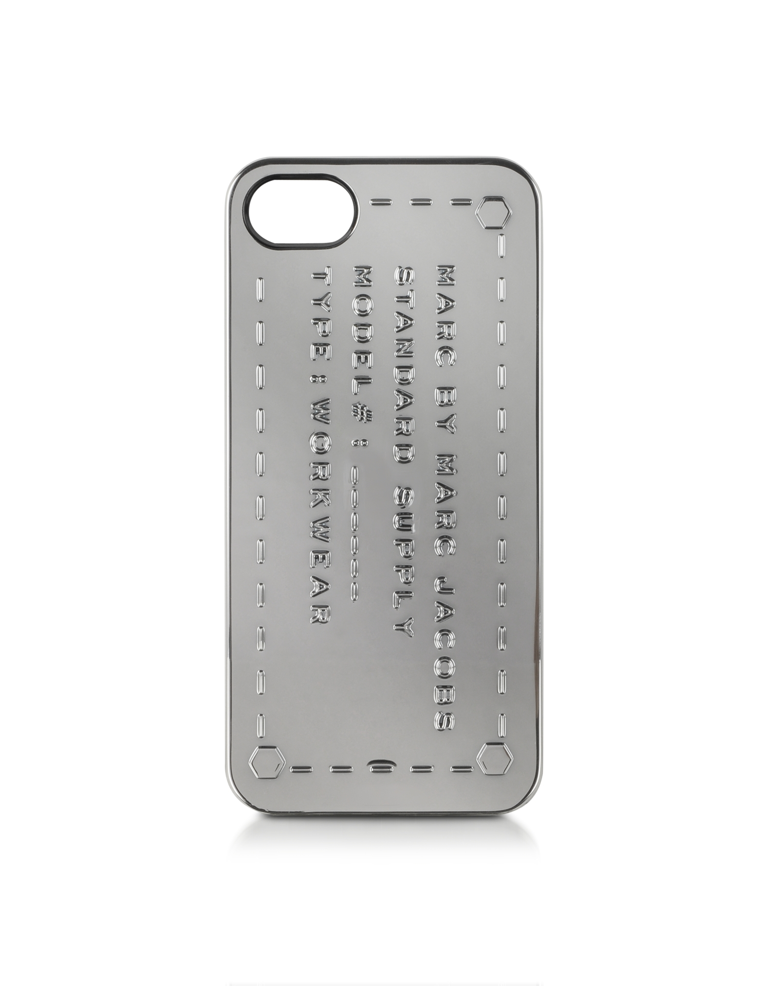 lyst marc by marc jacobs standard supply iphone 5 case. Black Bedroom Furniture Sets. Home Design Ideas