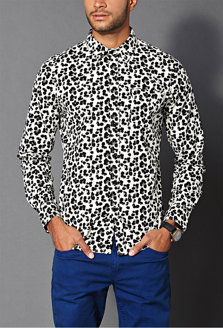 Buy low price, high quality mens leopard print shirt with worldwide shipping on dolcehouse.ml