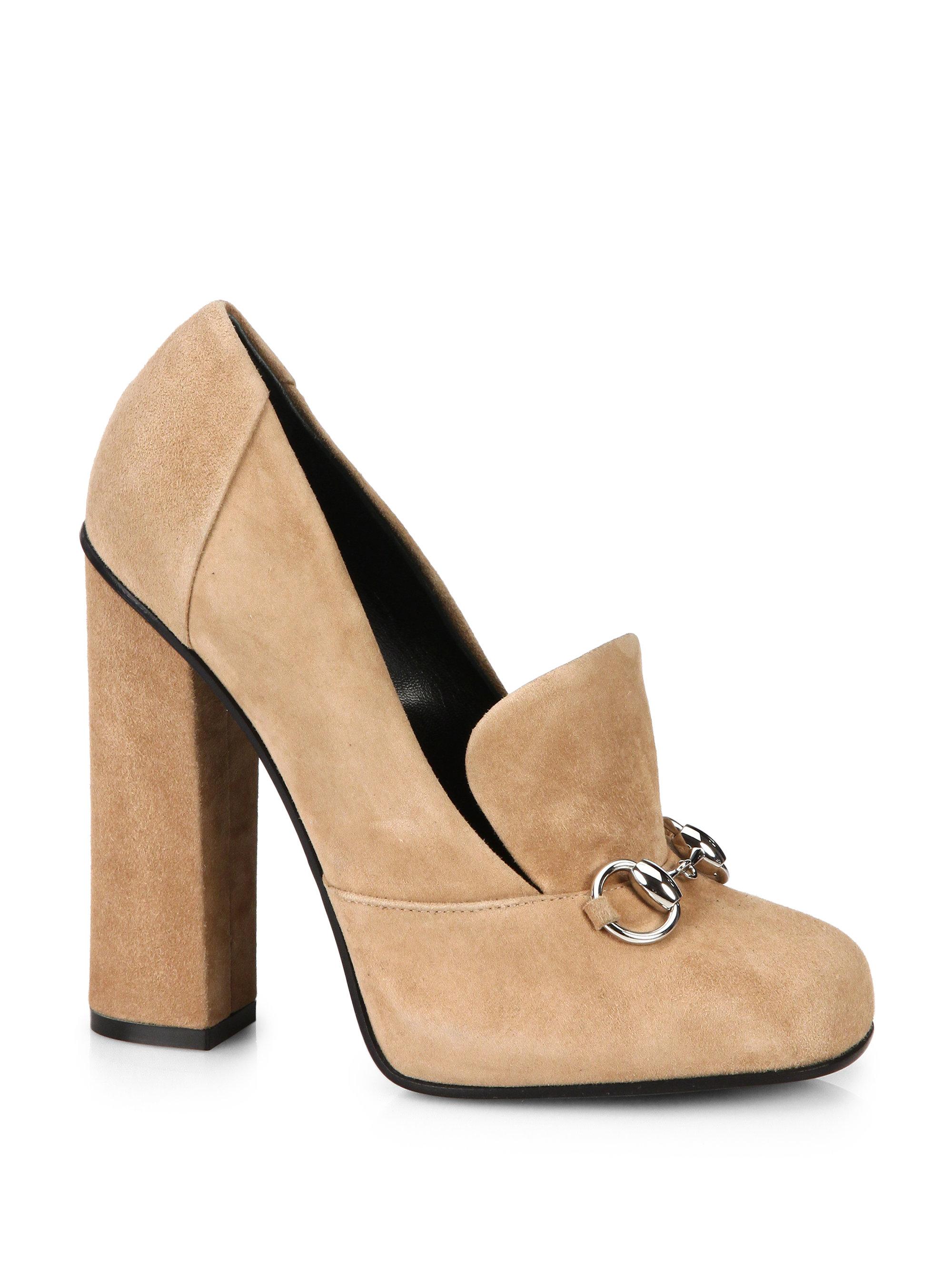 Nude Oxford Heels