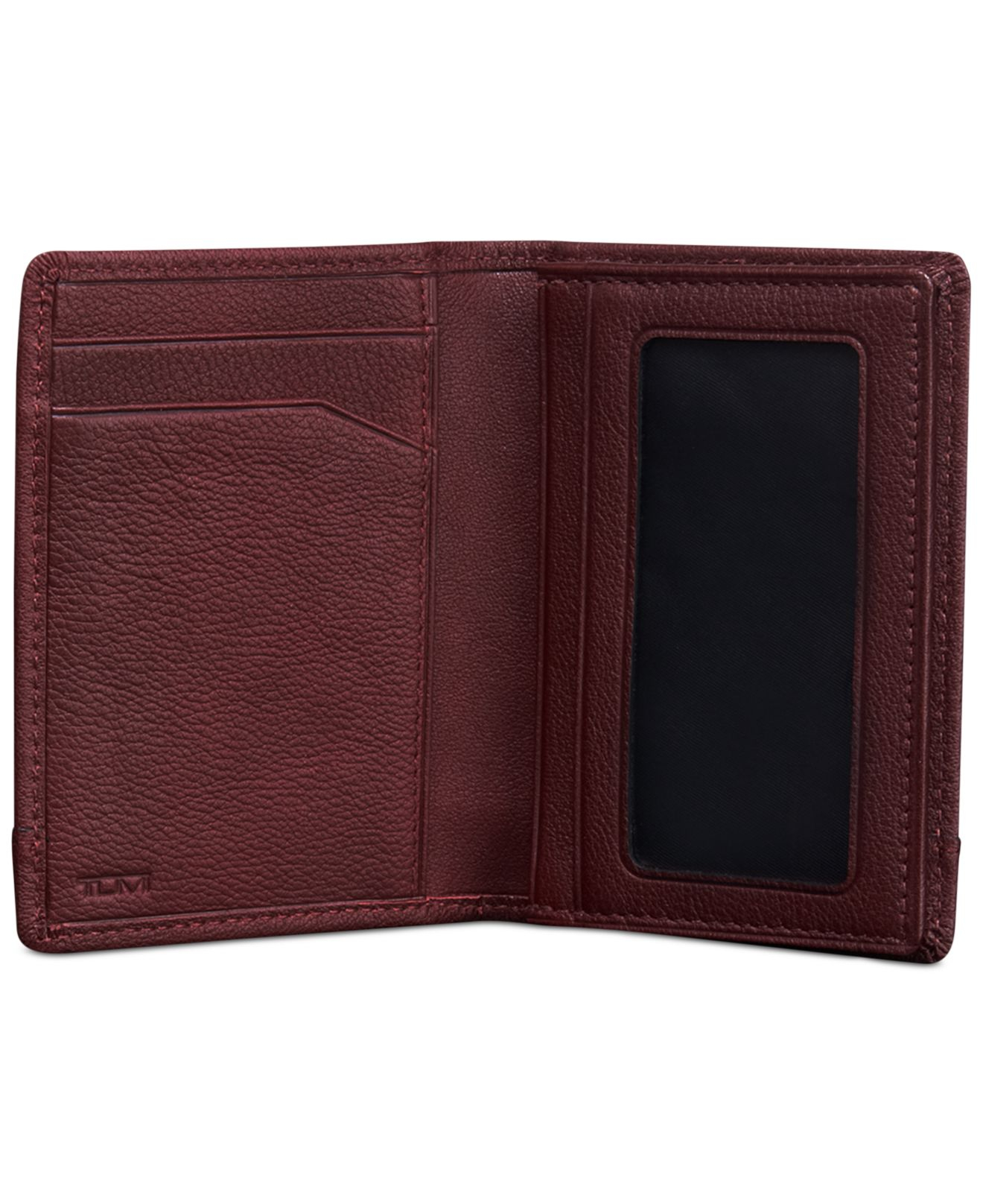 Lyst - Tumi Rivington Gusseted Card Case Id Wallet in Red for Men