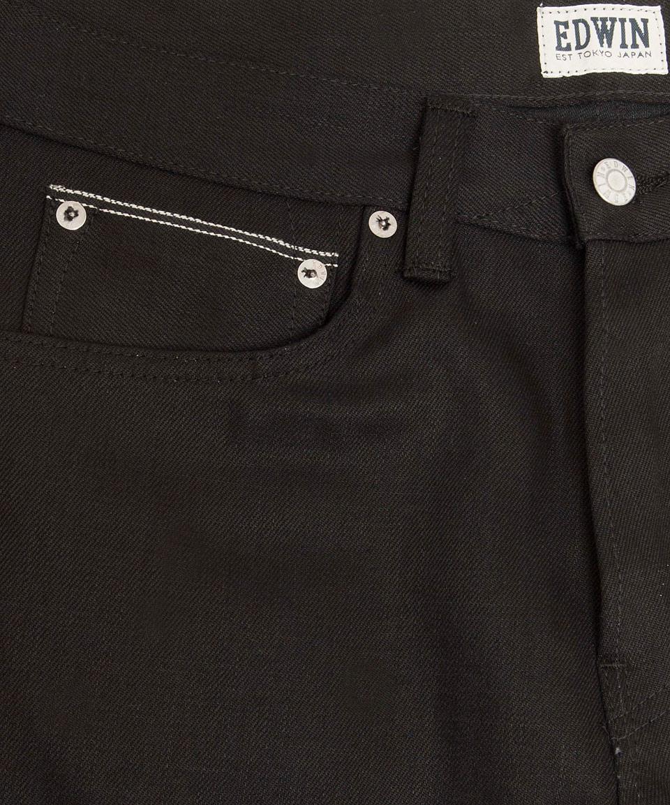 Edwin Black Ed-55 Overdye Jeans L32 for Men