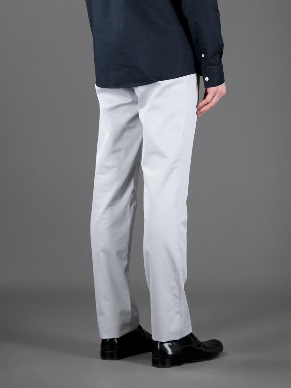Balenciaga Chino Trouser in Grey (Grey) for Men