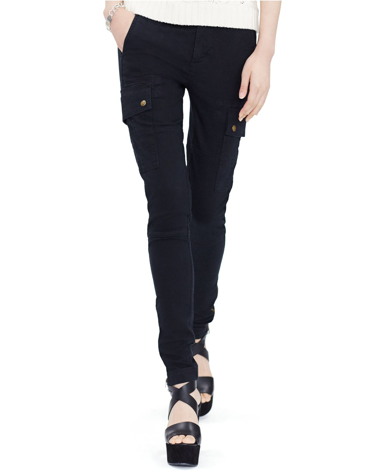 Awesome For Women, Cargo Pants Are Offered In A Variety Of Softer Fabrics And Colors, Sometimes With Ribbon Trim Or Embellishments US Fashion Designer Ralph Lauren Presented Silk Cargo Pants As Part Of His Runway Show In 1998