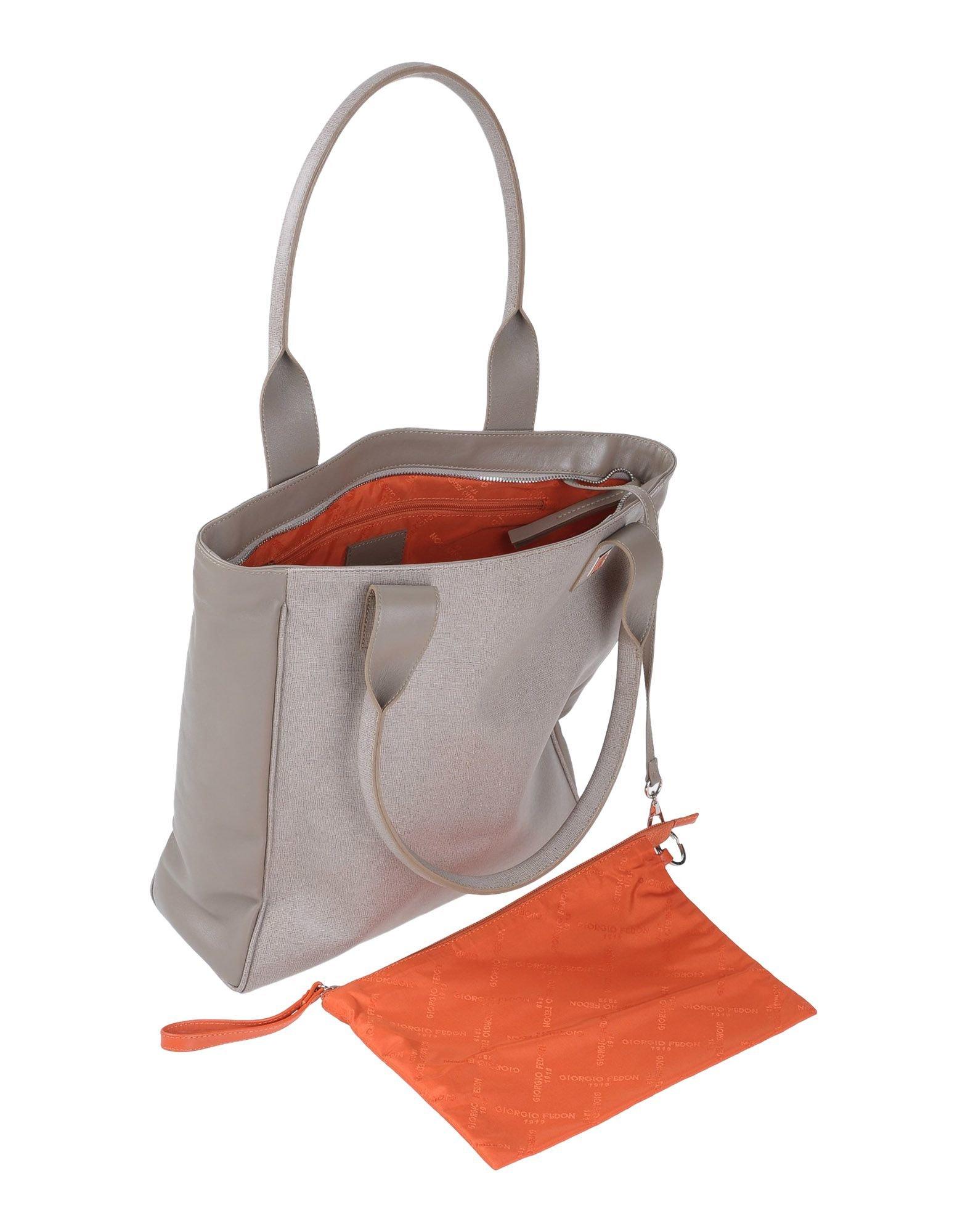 Giorgio fedon Handbag in Gray