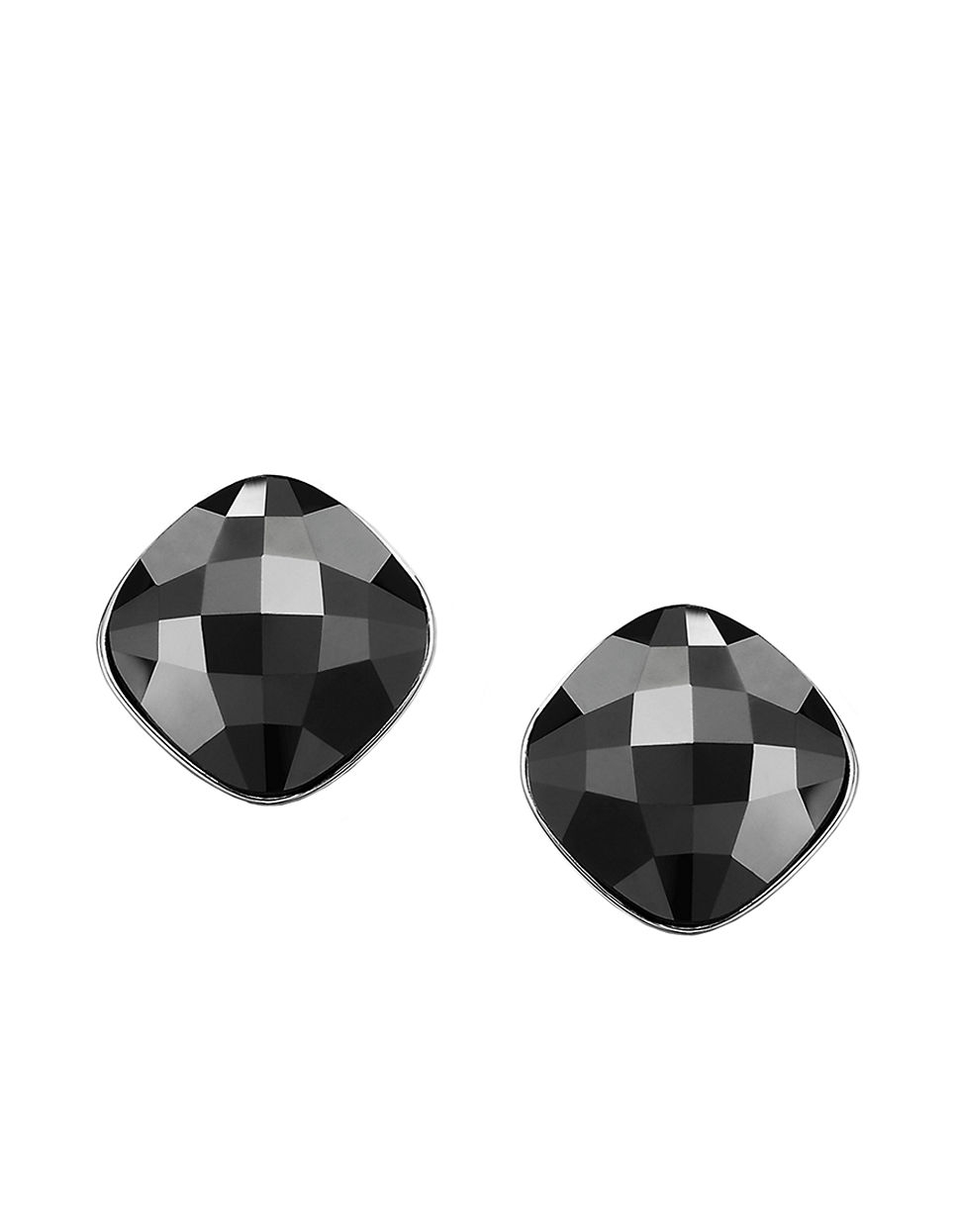 black shiny fashion tassel stud on earrings jewelry long side women for gift from item accessories in brand crystal
